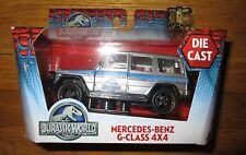 Jurassic World Movie Diecast Mercedes Benz G-CLASS 4x4 1:43 Scale Truck 2015