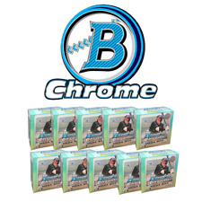 New York METS - 2020 Bowman Chrome Mega (10 Box) Team Break