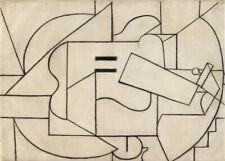 Guitar, 1912, PICASSO, Cubism, Surrealism, Expressionism Art Poster