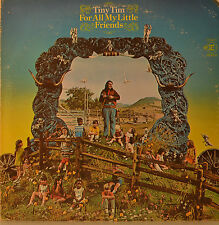 "TINY TIM - FOR ALL MON PETIT FRIENDS 12"" LP (M591)"