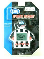 New FOX Sports Master Excalibur Handheld Electronic Sports Game Ages Kids 8+