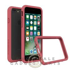 Apple iPhone 7 Plus Rhino Shield Crash Guard Bumper - Coral Pink Cover Shell
