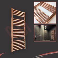 400mm(w) x 1200mm(h) Designer Straight Copper Heated Towel Rail (1637 BTUs)