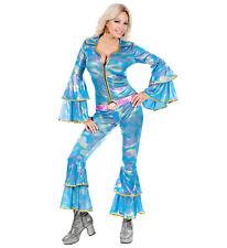 DANCING DISCO QUEEN FOR ABBA FANCY DRESS COSTUME 1970's WOMAN'S