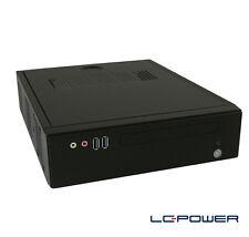 LC-Power - Mini-ITX-Gehäuse LC-1320II mit 90W-Netzteil und 2x USB 3.0
