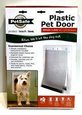 PetSafe Plastic Pet Door Medium Up To 40Lbs Ppa00-10959 New