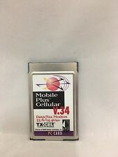 APEX Data Mobile Plus Cellular V.34 Data/Fax Modem 33.6/14.4kbps PC Card