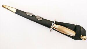 Type 2 J Nowill & Sons Fairbairn-sykes Bright & Brass Commando Knife Sheffield