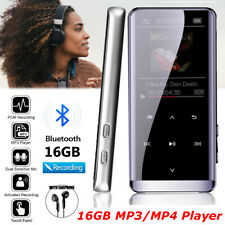 16GB Bluetooth MP3 MP4 Player Media FM Radio Recorder HIFI Sport Music Speaker
