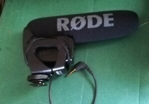 Rode video mic pro R nice condition upgrade for DLSR sound