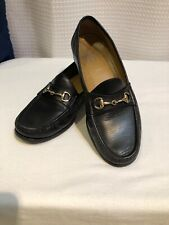 Cole Haan Black Bit Loafers 9 M