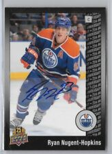 Ryan Nugent-Hopkins 2014 Upper Deck UD 25th Anniversary Auto Autograph 25/25 1/1