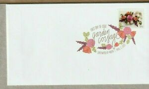 US LOVE WEDDING #5458 GARDEN CORSAGE 2 OZ RATE FOREVER STAMP DCP FIRST DAY COVER