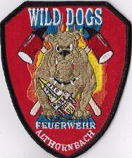 Wild Dogs Althornbach Feuerwehr Germany Rheinland-Pfalz  Fire Patch  NEW !!