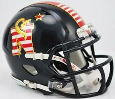 Navy Midshipmen Don't Tread On Me Alternate Riddell Mini Speed Football Helmet