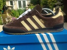 Adidas Jeans Brown Suede Size 8 80s Football Casuals 2015 Deadstock BNIB