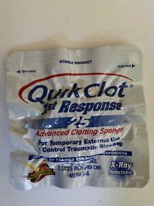 L@@K QuikClot Hemostatic Dressing 9cm x 9cm EXPIRED