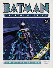 BATMAN: DIGITAL JUSTICE (1990) Pepe Moreno  DC Comics  NEW Sealed