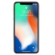 New Apple iPhone X 256GB FACTORY UNLOCKED GSM 4G LTE Silver Smartphone