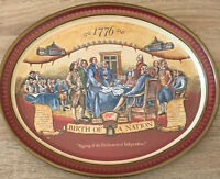 """1776 Declaration of Independence Miller High Life, Birth of a Nation - Tray 15"""""""
