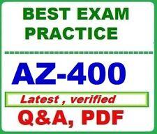 AZ-400- Best Exam Practice Q&A -MS Azure DevOps Solutions - LATEST