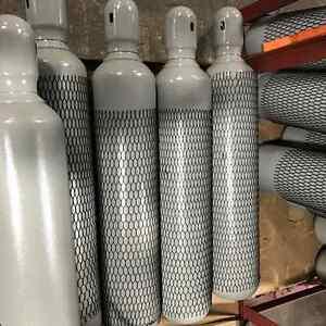 80 CF WELDING CYLINDER tank bottle CGA 580 ARGON, NITROGEN, HELIUM, ARGON/CO2
