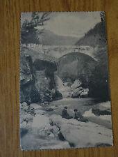 CARTOLINA ROMA PONTE FIUME VIAGGIATA 1912 SUBALPINA YY