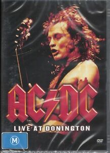 AC/DC Live At Donington (17th August 1991) DVD NEW & SEALED Free Post