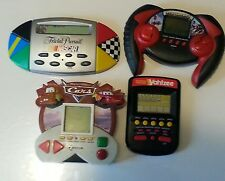 handheld game lot (4) * cars* ice hockey*trivial persuit NASCAR*Yahtzee*