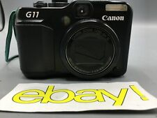Canon Powershot G11 10MP 5X Zoom F2.8-4.5 Compact Digital Camera Black 3632B001