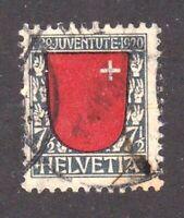 Switzerland stamp #B15, used, semi postal, BOB,  SCV $24.00