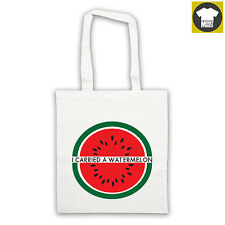 Like DIRTY DANCING I CARRIED A WATERMELON classic tote bag shopper
