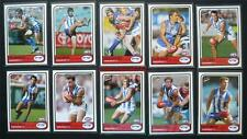 Mint 2005 AFL Select Traditions Trading Cards Kangaroos Set 10 Cards