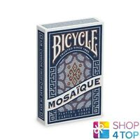 BICYCLE MOSAIQUE PLAYING CARDS DECK MAGIC TRICKS USPCC NEW