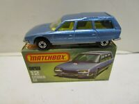 1979 MATCHBOX SUPERFAST NO.12 CITROEN CX ***NEW IN BOX***