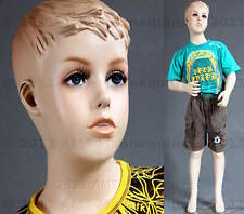 "Child mannequin manikin fiber glass full body boy (45"") mannequin - Sky"