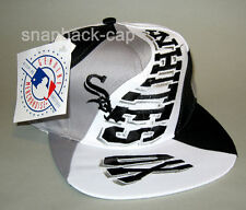 N.O.S VTG Vintage Snapback Cap CHICAGO WHITE SOX BASEBALL CAP old school 90's