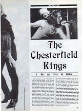Q24 Clipping-Ritaglio 1987 The Chesterfield Kings - I Re dal vivo in Italia