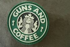 Guns And Coffee Airsoft Patch