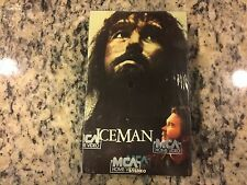 ICEMAN RARE NEW SEALED BETA BETAMAX TAPE 1984 TIMOTHY HUTTON CAVE MAN IN FUTURE!