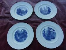 New ListingGroup of 4 1946 Wellesley College Wedgwood Plates. Va Estate Find