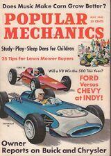 Popular Mechanics Magazine May 1963 Ford vs. Chevy 090117nonjhe