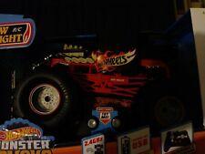 New Bright RC 1:14 Radio Control Hot Wheels Bone Shaker Monster Truck, 2.4 GHz