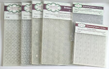 Creative Expressions Sue Wilson Embossing Folders x 6 - Mixed Designs, 3 x Sizes