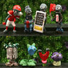 Plants vs. Zombies Figures Set  Toy Display Collection sets Xmas Gift