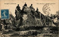 CPA Peyrat-le-Chateau Pierre Druidique, dite Roche Bouteillere (390622)