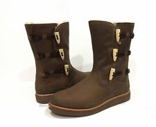 UGG 1012035 KAYA WOMEN'S BOOTS BROWN CHOCOLATE SUEDE -US SIZE 7 -NIB