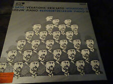 Reinbert De Leeuw Erik Satie Vexations Philips Digital LP NM Shipping 4$