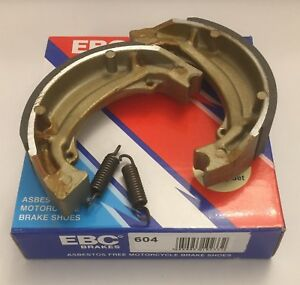 EBC REAR Brake Shoes (S604) (1 Pair) Fits SUZUKI LT-A50 / LT-Z50 (2002 to 2018)
