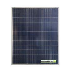 Pannello Solare Fotovoltaico 200W 12V Camper Barca Giardino impianto Baita